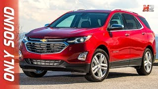 New chevrolet equinox 2017 - first test drive only sound