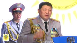 25 лет Казахстанской полиции отметили акмолинские стражи порядка