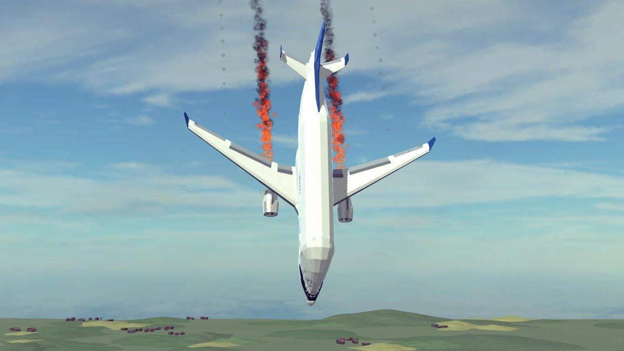 Airplane Crashes & Shootdowns #41 | Besiege