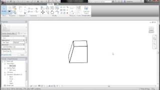 Extrusion, Sweep, Revolve, Swept Blend with Revit