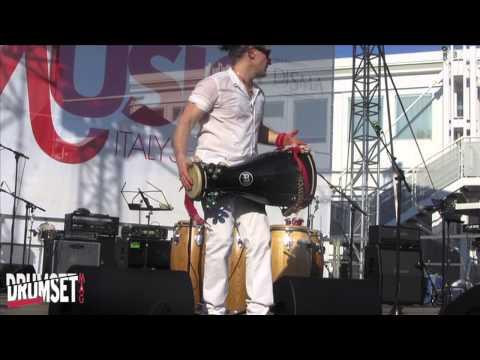 Percussionisti al MIS 2013