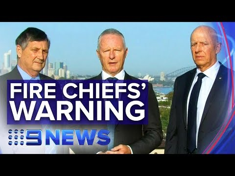 Former Fire Chiefs' Climate Message For Government | Nine News Australia