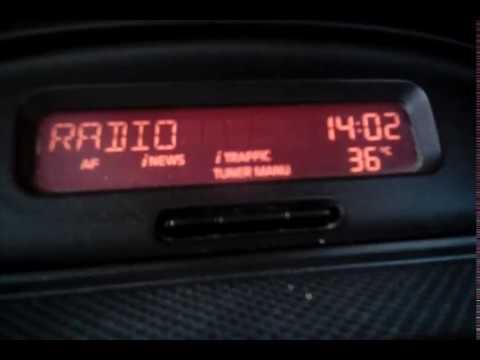 Quick fm scan (renault auto radio philips) Banja Junakovic Vojvodina, Serbia 30.7.2017