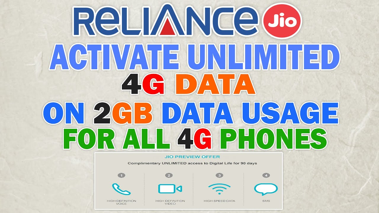How To Get 4g Unlimited Data After 2GB Data Usage For Any Android 4g  Smartphone(Full Tutorial)