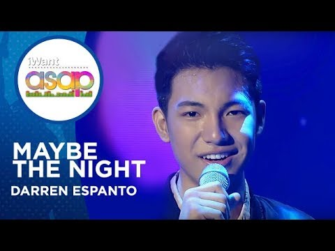 Darren Espanto - Maybe The Night | iWant ASAP Concert