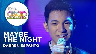 Darren Espanto - Maybe The Night | iWant ASAP Highlights