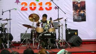GALEYD - Replica DRUM COVER [Yamaha Kid Drummer Malaysia]