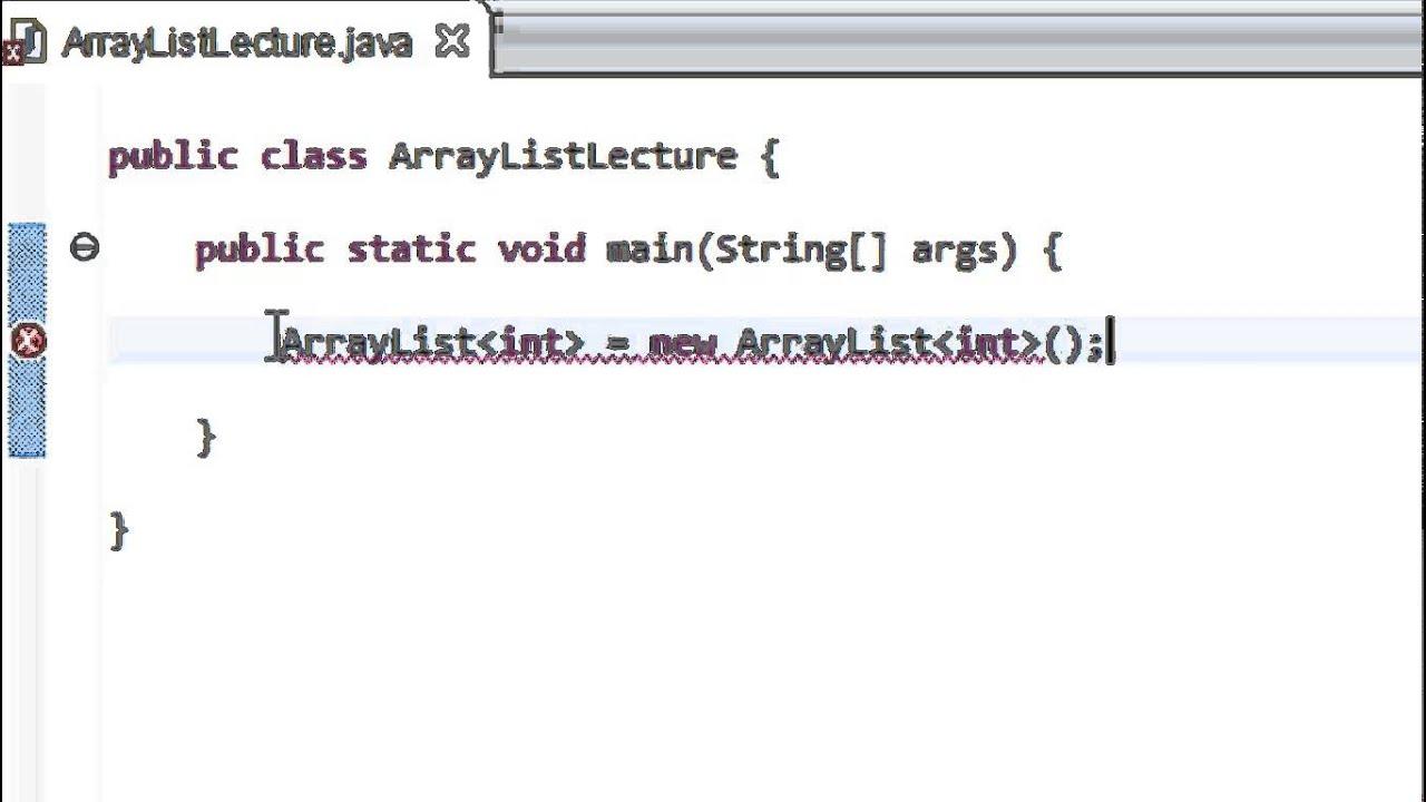 Programmer En Java Debutant 56 Arraylist Youtube