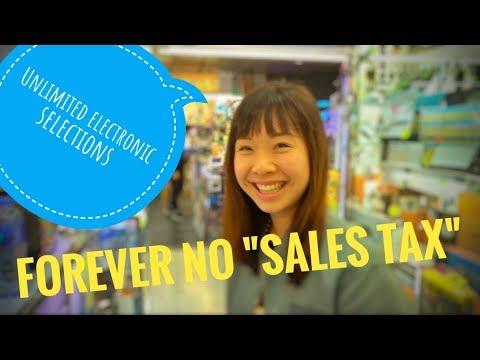 Shopping for electronics in Hong Kong