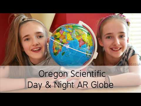 Scientific Day & Night AR Globe by Oregon - Review