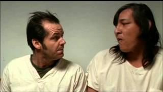 Vol au-dessus d'un nid de coucou (1975) - Premières paroles du géant indien [FR]