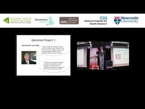 Diagnosis Matters - Part 3 - Dr Paul Brennan, The 100,000 Genomes Project