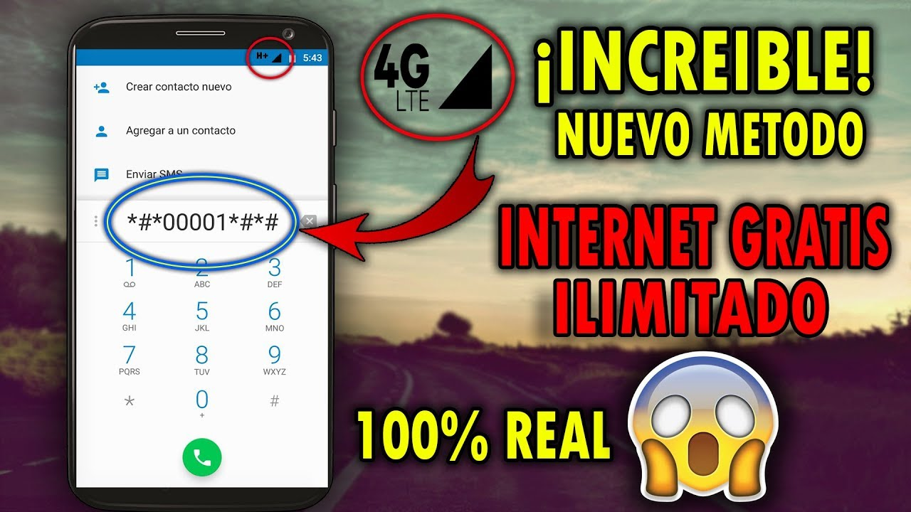 Cómo Tener Internet Gratis 100 Ilimitado En Todos Los Celulares Y Todos Los Países Real Youtube