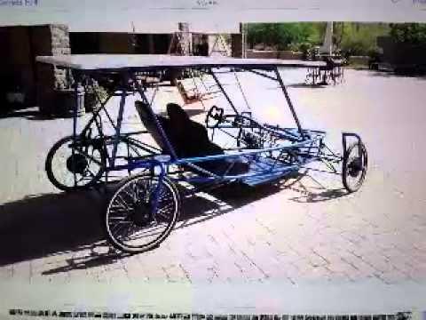 Solar Atom Themed Electric Car Coup Volt Watt X