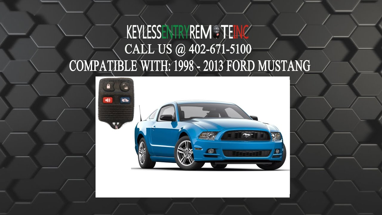 How to replace ford mustang key fob battery 1998 1999 2000 2001 2002 2003 2004 2005 2006 2007 2008 2