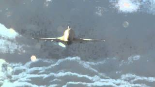 """The original """"KC-10 spreading chemtrails"""" spoof video"""