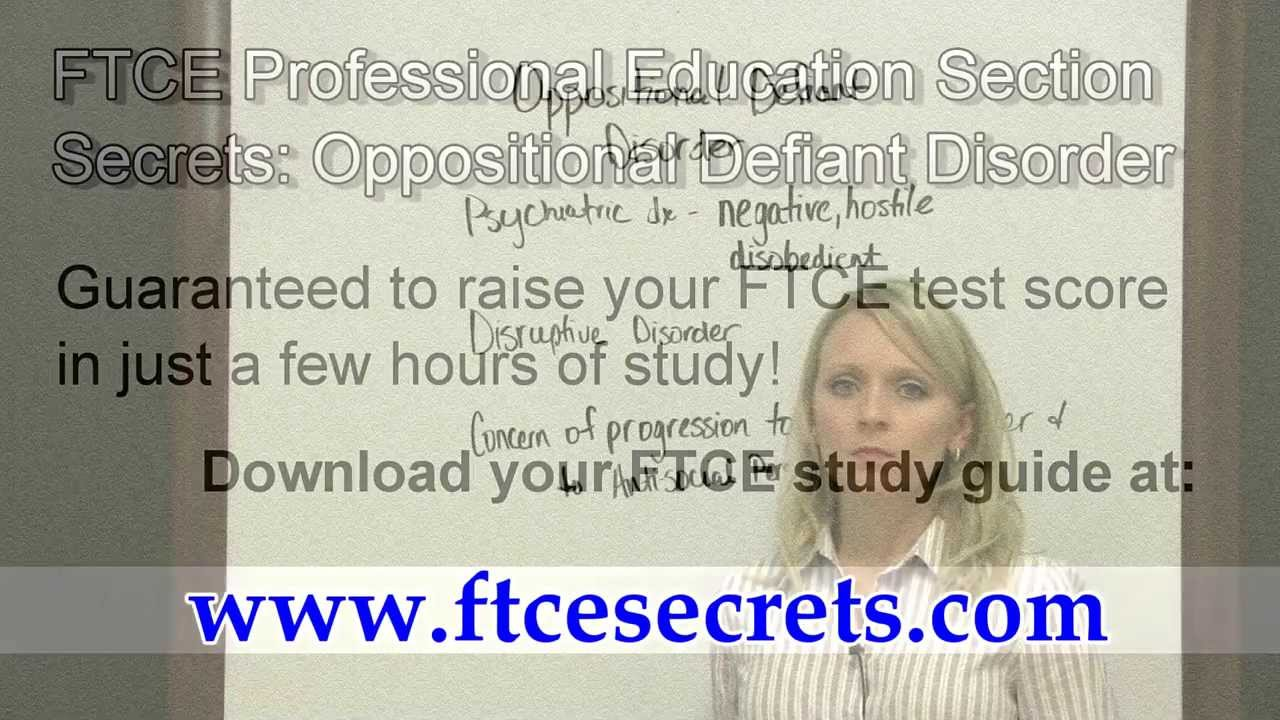 ftce professional education test 083 section exam help rh youtube com FTCE General Knowledge Practice Test ftce professional education test study guide free