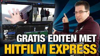 GRATIS video's bewerken met Hitfilm Express #1 - De Tijdlijn