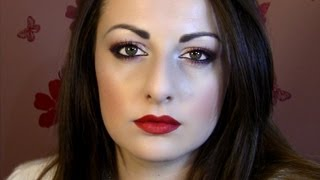 Glamorous Coppers & Reds for the Holidays - Makeup Tutorial Thumbnail