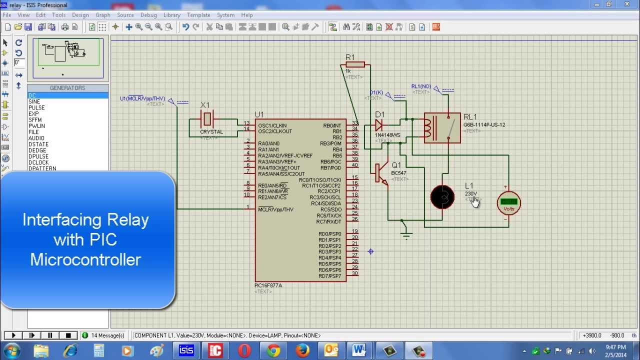 Pic - Driving a relay directly with a microcontroller? - Electrical