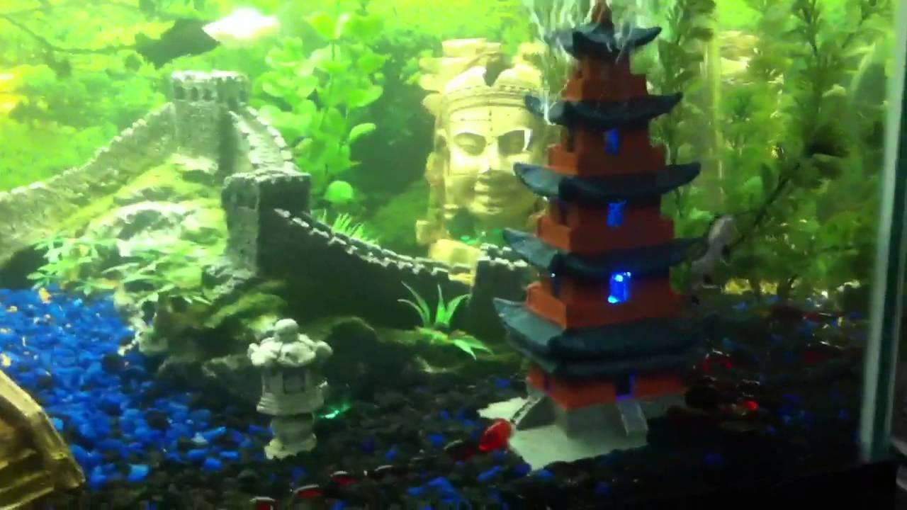 Fish Tank Japanese Decorations  Aquarium Decoration Hill