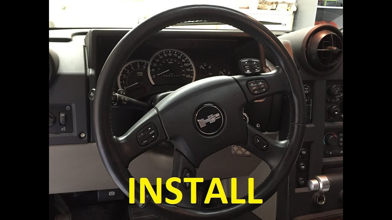 Hummer H2 Steering Wheel Radio Controls 5 Minute Install