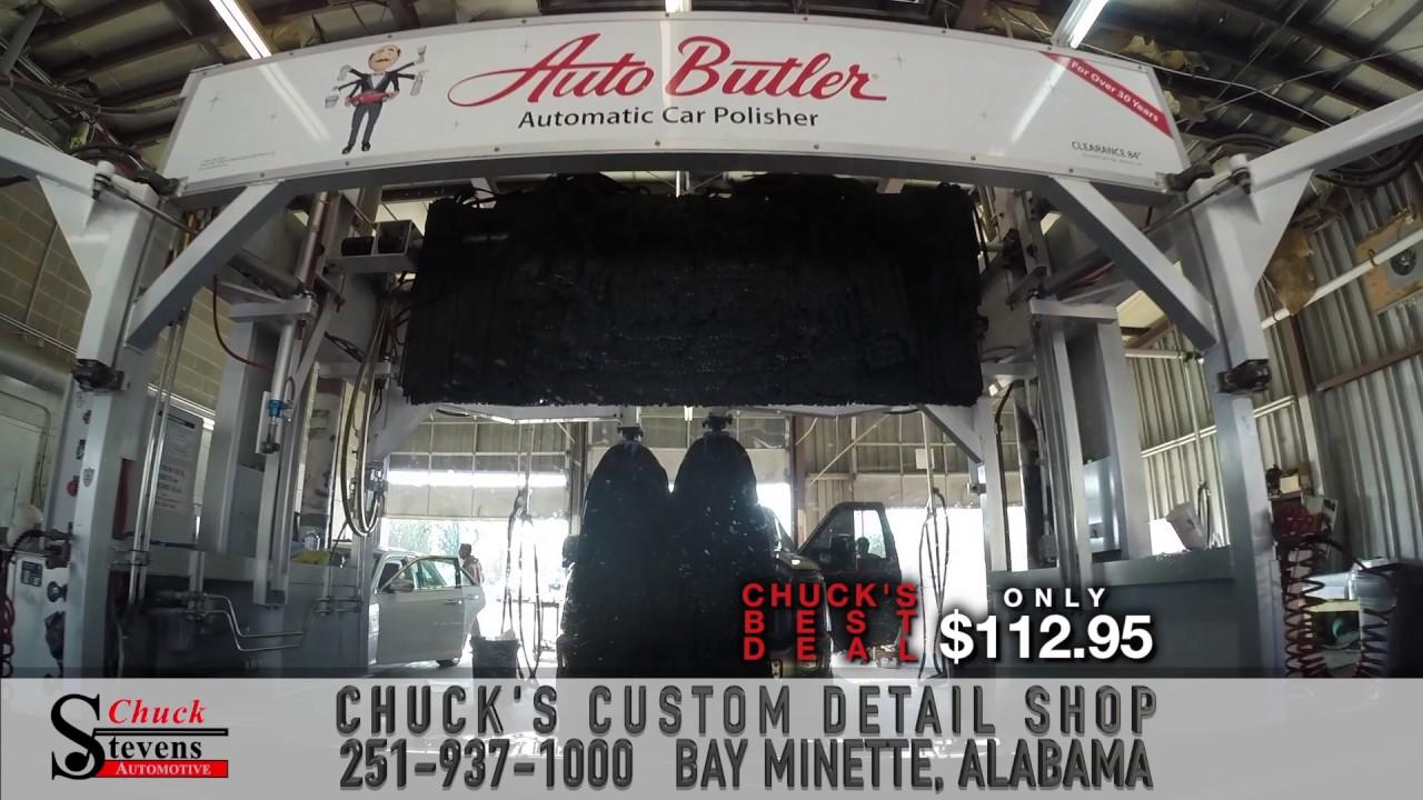 chuck 39 s auto detail shop in bay minette alabama youtube. Black Bedroom Furniture Sets. Home Design Ideas