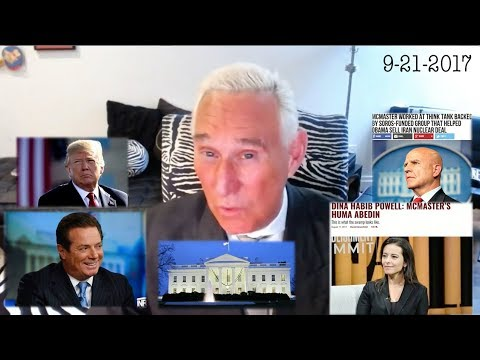 Roger Stone Discusses Current Events 9-21-2017