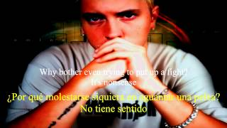 Repeat youtube video Eminem - Legacy (feat. Polina) (MMLP2) Subtitulos en español e inglés (Lyrics on screen)  HD