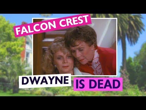Falcon Crest 6x01 Aftershocks: Dwayne is dead
