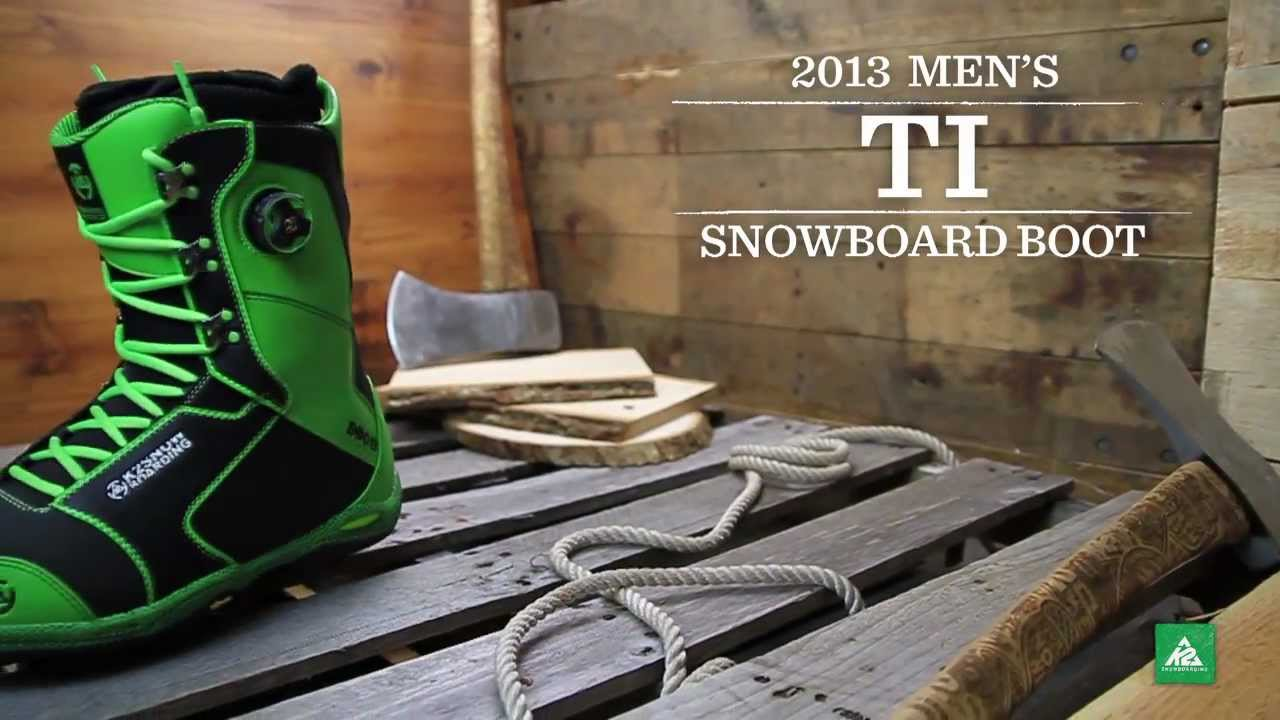 K2 T1 Boot 2013 Product Video