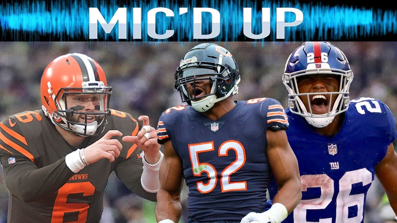 Best Mic'd Up Sounds of the 2018 Season: Trash-Talk, Fails, Celebrations, & More!