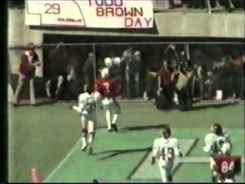 1982 Nebraska vs New Mexico State with radio audio & comments from Tom Osborne