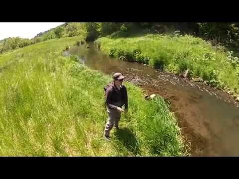 Driftless One - stalking trout in Wisconsin