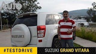 Prueba de manejo Suzuki Grand Vitara - ¿Sigue vigente?(Suscribete a nuestro canal para ver más vídeos! Probamos la Suzuki Grand Vitara 2015 en su versión special, con 10 años a cuestas la marca ha ido ..., 2015-09-03T03:00:01.000Z)
