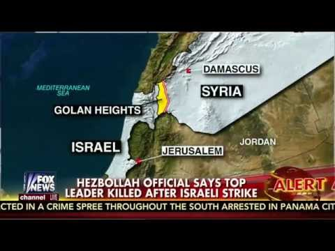 Psalm 83 : Israeli Airstrike kills Top Hezbollah Commander in the Golan Heights (Jan 18, 2015)
