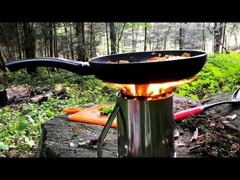 DIY Amazing - compact turbo wood stove