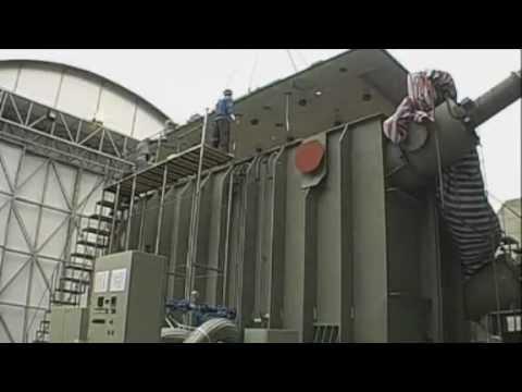 HVDC Transformer Repair in China (Siemens)