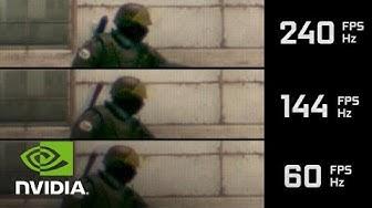 GeForce Powered High FPS CS:GO SLO-MO Video