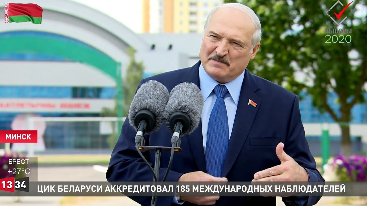 Лукашенко о выборах: Власть хотите  свергнуть?! Ждёте, что на колени станет перед вами кто-то?