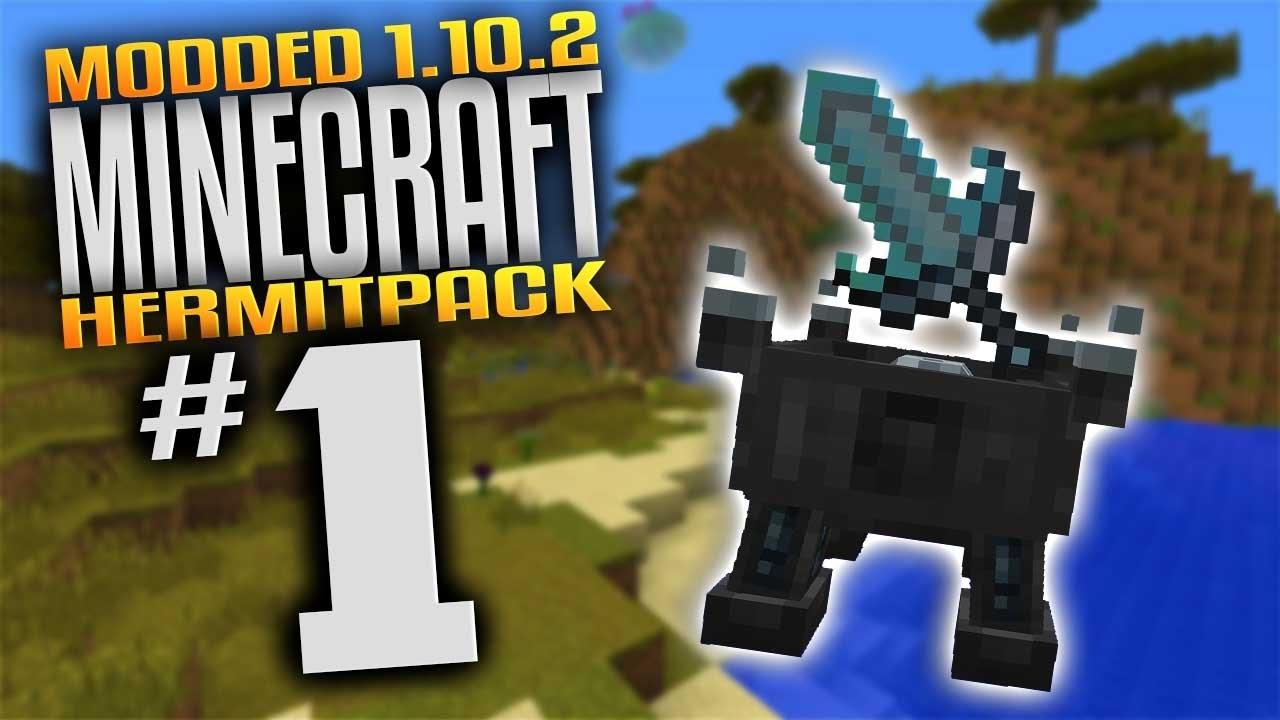 Minecraft Hermitpack - Sentient Sword & Demon Essence (Minecraft