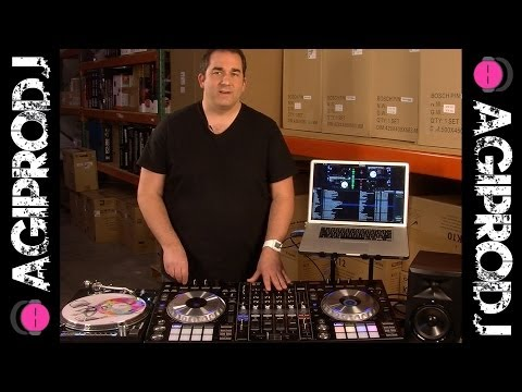 PIONEER DDJ-SZ With External Timecode, RP-8000 Turntables & CDJ Control | Agiprodj