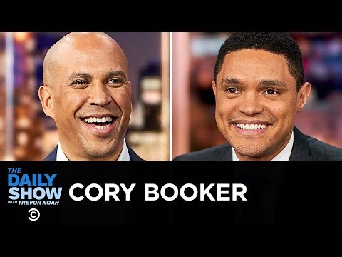 Cory Booker - A White House Bid Based on Inclusiveness and Courageous Empathy | The Daily Show