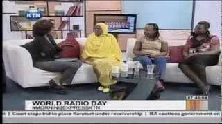 Interview on World Radio Day with Radio Maisha presenters