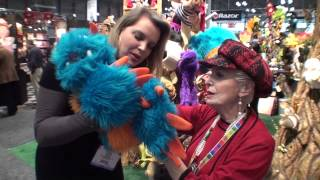 FOLKMANIS PUPPETS 2013 TOY FAIR with SYLVIA GALLEN