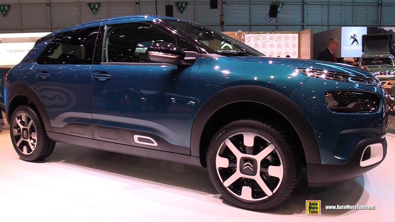 2019 citroen c4 cactus exterior and interior walkaround 2018 geneva motor show youtube. Black Bedroom Furniture Sets. Home Design Ideas