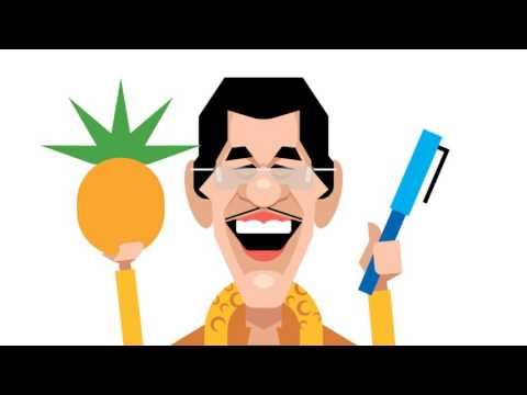 PPAP Pen-Pineapple-Apple-Pen, Animated (Cover by 2D-PIKOTARO)