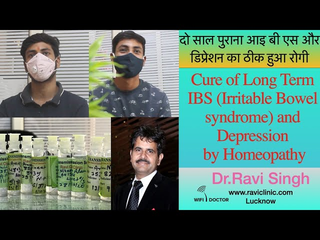 IBS and Depression for 2 years getting cured Dr.Ravi Singh