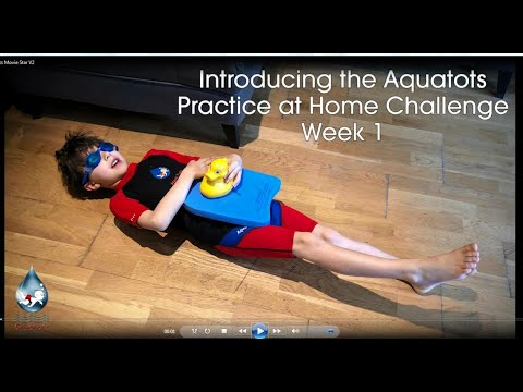 The Aquatots Lockdown Home Challenge | Introducing the Aquatots Practice at Home Challenge