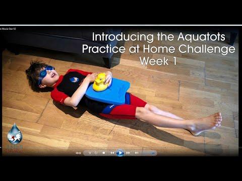 The Aquatots Lockdown Home Challenge | Introducing the Aquatots Practice at Home Challenge